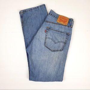 Levi's 505 Lightwash Denim Jeans